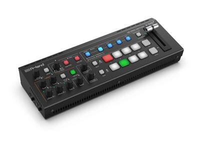 ROLAND V-1HD+ 4 CH. HD VIDEO SWITCHER, 720P/1080I/1080P FORMATS, W. SCALER & 2 MIC PRE-AMPS