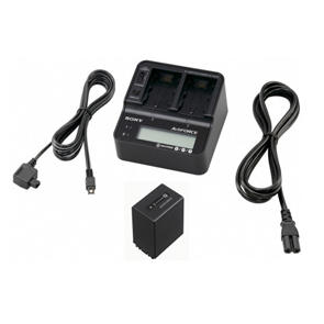Sony ACC-V1BPA - Twin charger plus 1 x NP-FV100