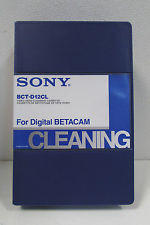 Sony BCTD12CL - CLEANING TAPE DIGITAL BETACAM