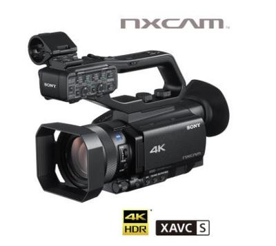"Sony HXR-NX80 1"" ExmorRS CMOS 4KHDR Palm Cam with HDMI"