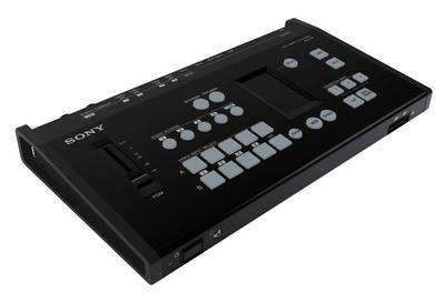 Sony MCX-500 4-channel 1 M/E switcher for live streaming, webcasts or recording