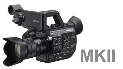 Sony PXW-FS5M2K - 4K Super35 E-mount camcorder with lens inc RAW & HFR