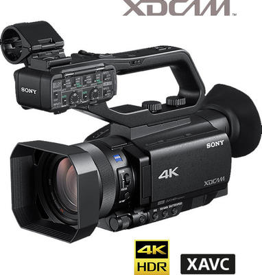 "Sony PXW-Z90V - 1"" Exmor RS CMOS 4KHDR Palm Cam with SDI"