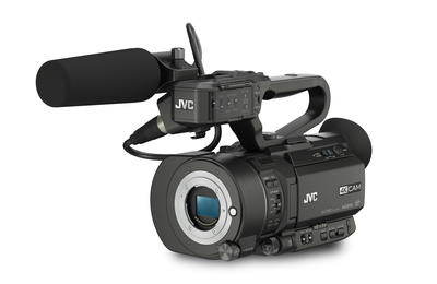 JVC GY-LS300CHE Solid state Interchangable Lens 4K camcorder, Handheld