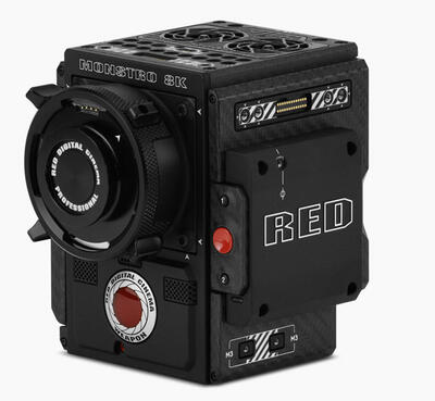 RED DSMC2® BRAIN® w/ MONSTRO® 8K VV and Al PL Mount