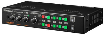 ROLAND XS-42H MATRIX SWITCHER, 4 IN / 2 OUT WITH LAN CONTROL
