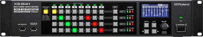 ROLAND XS-84H MATRIX SWITCHER, 8 IN / 4 OUT WITH HDBASET