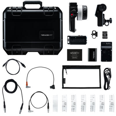 Teradek RT - Single-Axis Superspeed Wireless Lens Control Kit w/ Lens Mapping - Metric