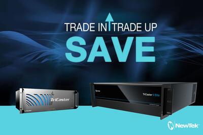 Newtek TriCaster 8XX or TC1 without CS Trade Up to TriCaster 2 Elite without CS