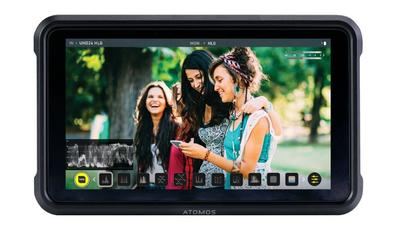 "ATOMOS Shinobi 5"" SDI / HDMI Field Monitor mit Full-HD HDR Display, 1000 nits"