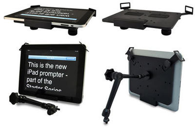 Autocue Straight-Read iPad/iPad Mini Prompter - Allows you to convert an iPad into a straight-read t