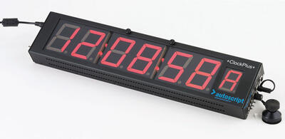 Autoscript A9011-1006 CLOCKPLUS-IP: Timecode, tally and camera number display for Intelligent Prompt