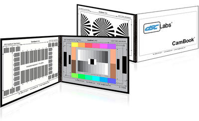 DSC Labs CK CamBook  12+4 Colors & 11 steps Grayscales - MultiBurst - BackFocus  - Scanned Area 11 x