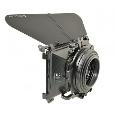 415-02F100 Compact MatteBox 4:3 +16:9  F4.5 =  CLWAH-F4.5 incl. French Flag + CF-MB/F4.8  mit 2 Filt