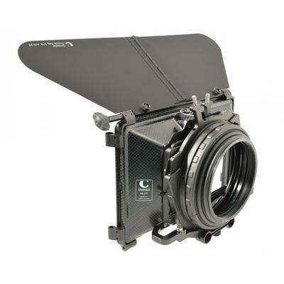 415-02F110 Compact MatteBox 4:3 +16:9  F4.5 =  CLWAH-F4.5 incl. French Flag + CF-MB/F4.8  mit 2 Filt