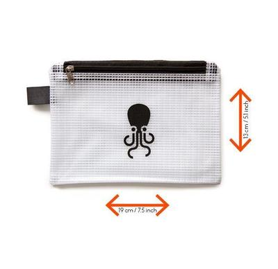 TENTACLE A04 POUCH IN BLACK