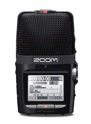 Zoom H2n HANDY AUDIO RECORDER - X/Y and M/S Mic Pattern, 24bit