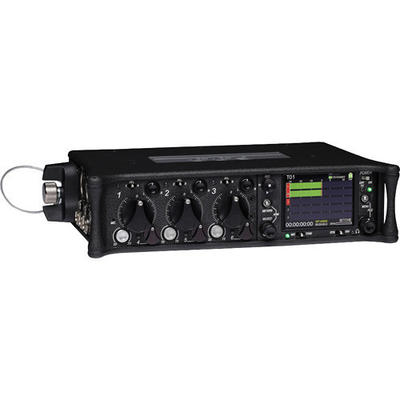 Sounddevices 633 6-input compact mixer with integrated 10-track recorder, time code, SD & CF slot, P