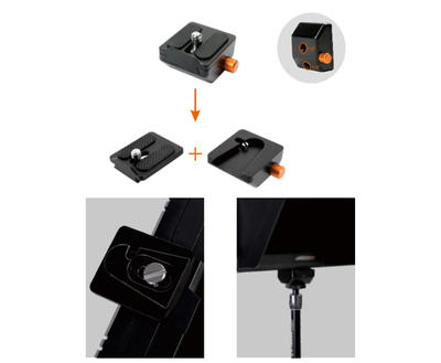 E-IMAGE APM-03  QUICK ADAPTER  WITH QUICK RELEASE PLATE