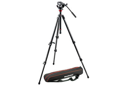 Manfrotto 500 MDEVE CARBON VIDEO SYSTEM Nr.MVH500AH,755CX3