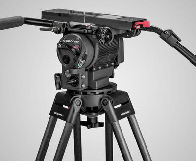 2560 Head & 60L 150mm Bowl Tripod with Mid Level Spreader