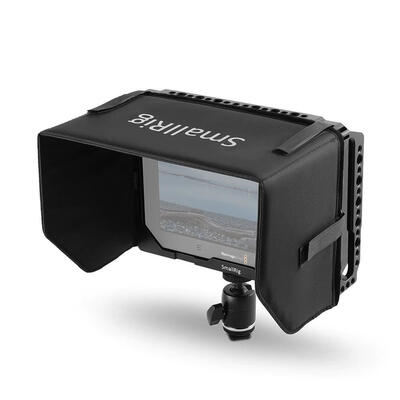 SMALLRIG 7'' Monitor Cage with Sunhood for Blackmagic Video Assist 1988