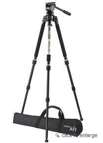 Miller AIR (1042) Solo 75 2-St C/F Tripod (1501) Pan Handle (682) Softcase (2095) Camera Plate (1204