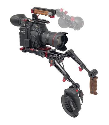 Zacuto Z-C200ER-PDG - C200 EVF Recoil Pro with Dual Trigger Grips