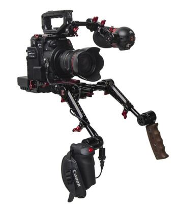 Zacuto Z-C2R-PDG - C200 Recoil Pro with Dual Trigger Grips
