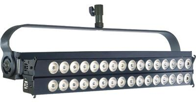 VELVET 2LONG-STUDIO 60CMS 100W articulated LED panel with on-board AC control