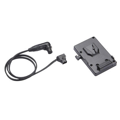 Litepanels A/B V-Mount Battery Bracket with P-Tap to 3-pin XLR cable
