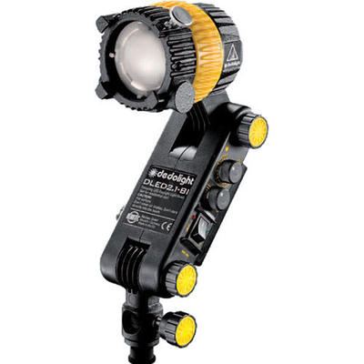 """DLED2 Focusing 20W LED bicolor light head with 16mm (5/8"""") receptacle and build-in electronics"""