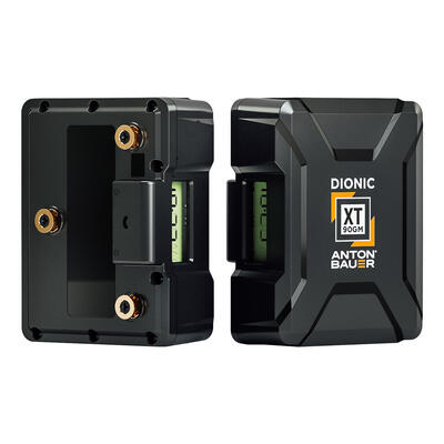 Anton Bauer DIONIC XT 90 Gold Mount Battery - Gold Mount Lithium Ion Battery, 14.1 volts, 99Wh