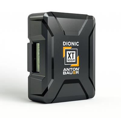 Anton Bauer DIONIC XT 90 V-Mount Battery - V-Mount Lithium Ion Battery, 14.1 volts, 99Wh