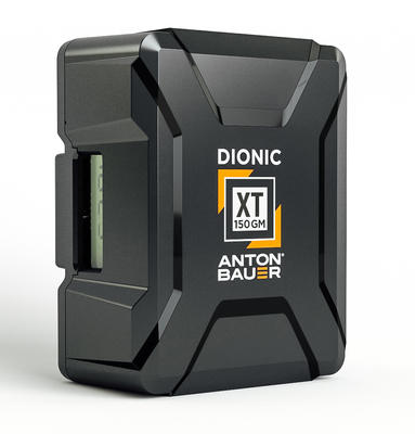 Anton Bauer DIONIC XT 150 V-Mount Battery - V-Mount Lithium Ion Battery, 14.4 volts, 156Wh