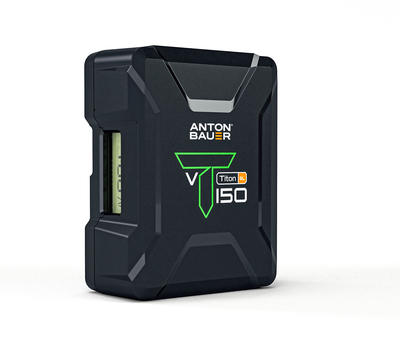 Anton Bauer Titon SL 150 V-Mount Battery - V-Mount Lithium Ion Battery, 14.4 volts, 143Wh