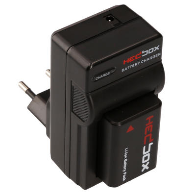 Hedbox RP-DC30 | Traveler Battery Charger - Changeable Battery plates peed to be order separately, a