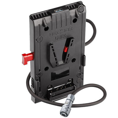 Hedbox UNIX-BM | V Mount Power Adapter Plate, with 1x USB 5V/2.1A, and 3x D-Tap 14.8V/148W Power out