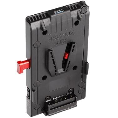 Hedbox UNIX | V Mount Power Adapter Plate, with one USB 5V/2.1A and three D-Tap 14.8V/5A Power Outpu