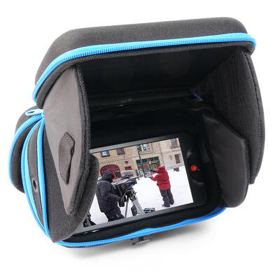 """Orca Hard Shell Monitor (5"""") Bag / case with integrated hood - 15x10x20cm - 0,6 kg"""