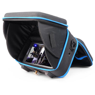 """Orca Hard Shell Monitor (7"""") Bag / case with integrated hood - 22x15x25cm - 1,2 kg"""