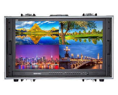 """Miete: Seetec 28"""" 4K-Ultra-HD Carry-on Broadcast Director Monitor"""